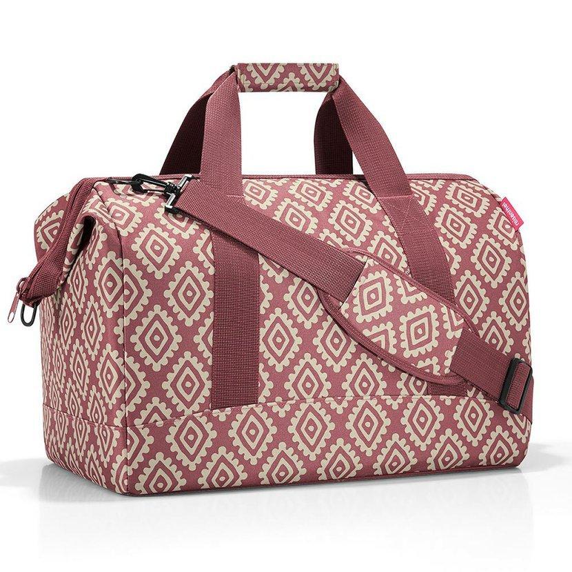 1959f3115f Cestovná taška Reisenthel Allrounder L Diamonds Rouge