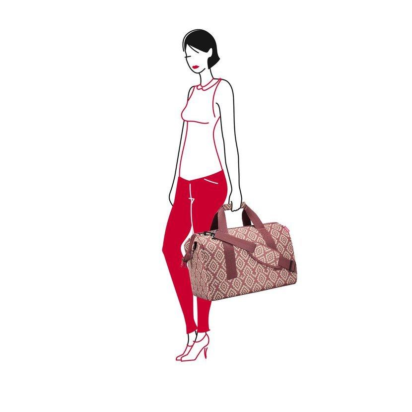9409b2fd92 Cestovná taška Reisenthel Allrounder L Diamonds Rouge 3
